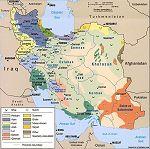 carte ethnographique iran